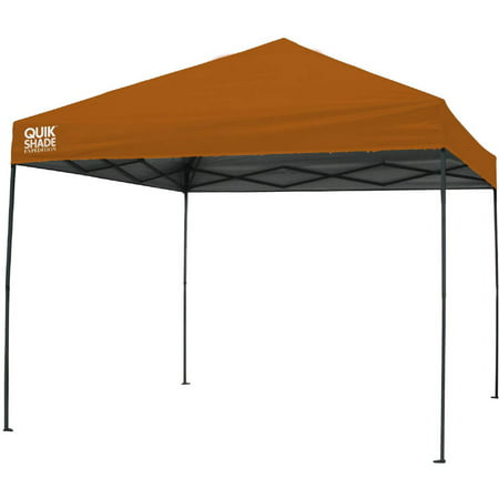 Quik Shade Expedition 10'x10' Straight Leg Instant Canopy (100 sq. ft. (Quik Shade 10x10 Expedition 100 Straight Leg Canopy)