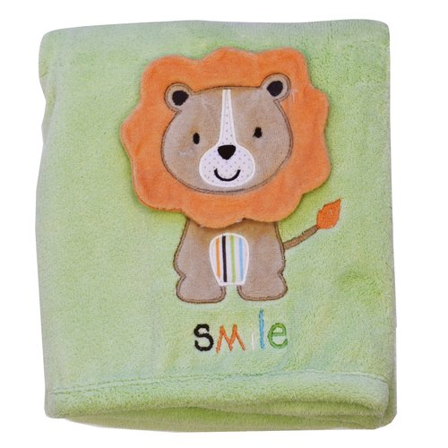 Triboro Child Of Mine Solid Fleece Blanket Ntrl