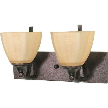 Nuvo Lighting  60/060  Bathroom Fixtures  Normandy  Indoor Lighting  Vanity Light  ;Copper Bronze ()