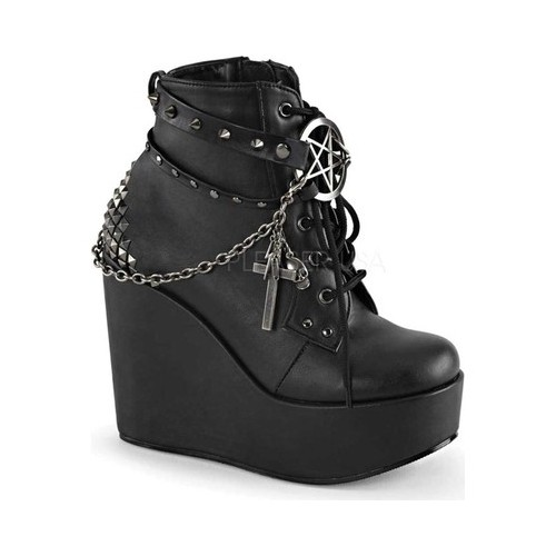 Women's Demonia Poison 101 Ankle Boot by PleaserUSA