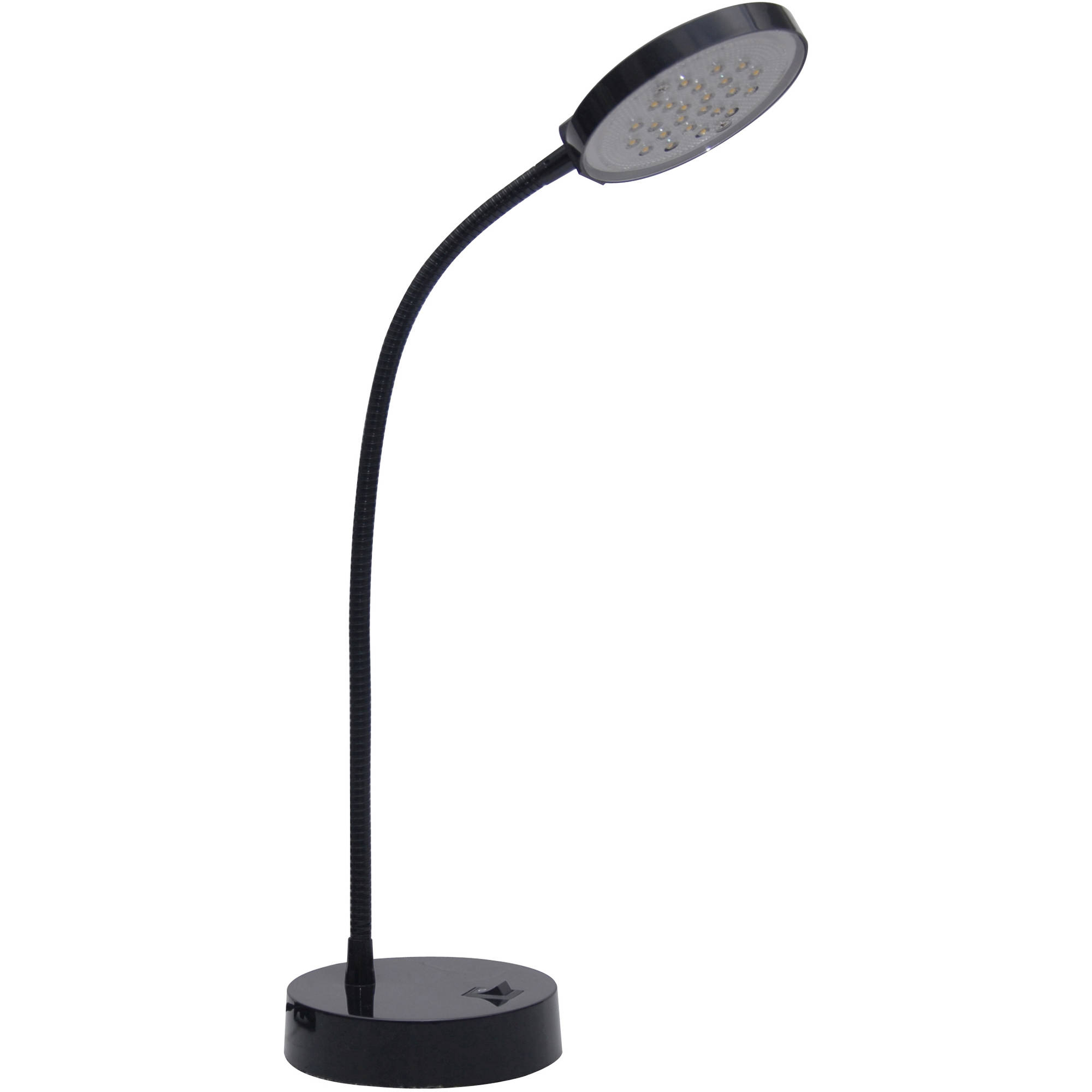 Mainstays 13 75 Quot Led Desk Lamp Black Finish Walmart Com