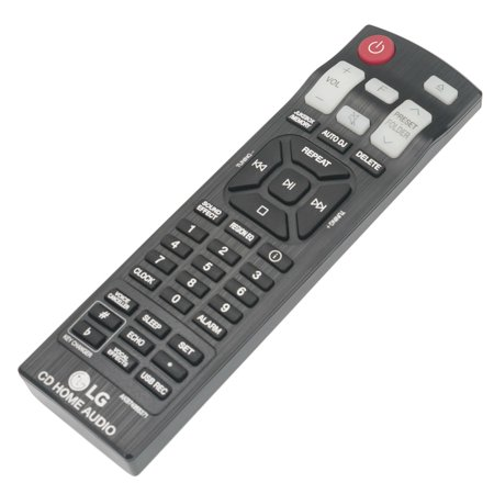 New AKB74955371 Remote Control fit for LG Mini CD Home Audio Hi-Fi System New AKB74955371 Remote Control fit for LG Mini CD Home Audio Hi-Fi System condition: New MPN: AKB74955371Brand: UnbrandedType: Home Audio RemoteCompatible Brand: For LGFeatures: [    Infrared ,    Wireless  ]Manufacturer Color: BlackModel: AKB74955371Dimensions: 6 x 2 x 1 inCompatible Model: AKB74955371 for LG Mini CD Home Audio Hi-Fi System