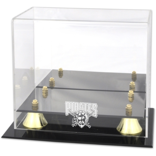 Pittsburgh Pirates Fanatics Authentic Golden Classic Logo Mini Helmet Case - No Size