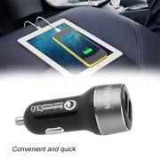 QC3.0 Universal Dual USB Car Charger Quick Charge 3.0 Fast Charging For Phone