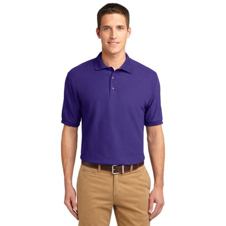K500 Port Authority Adult Golf Shirt Silk Touch Polo