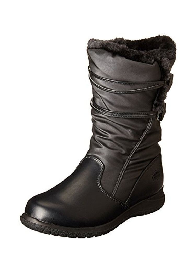 New Womens Totes Winter Judy Snow Boots Black Size 6 M Waterproof Thermolite by Totes