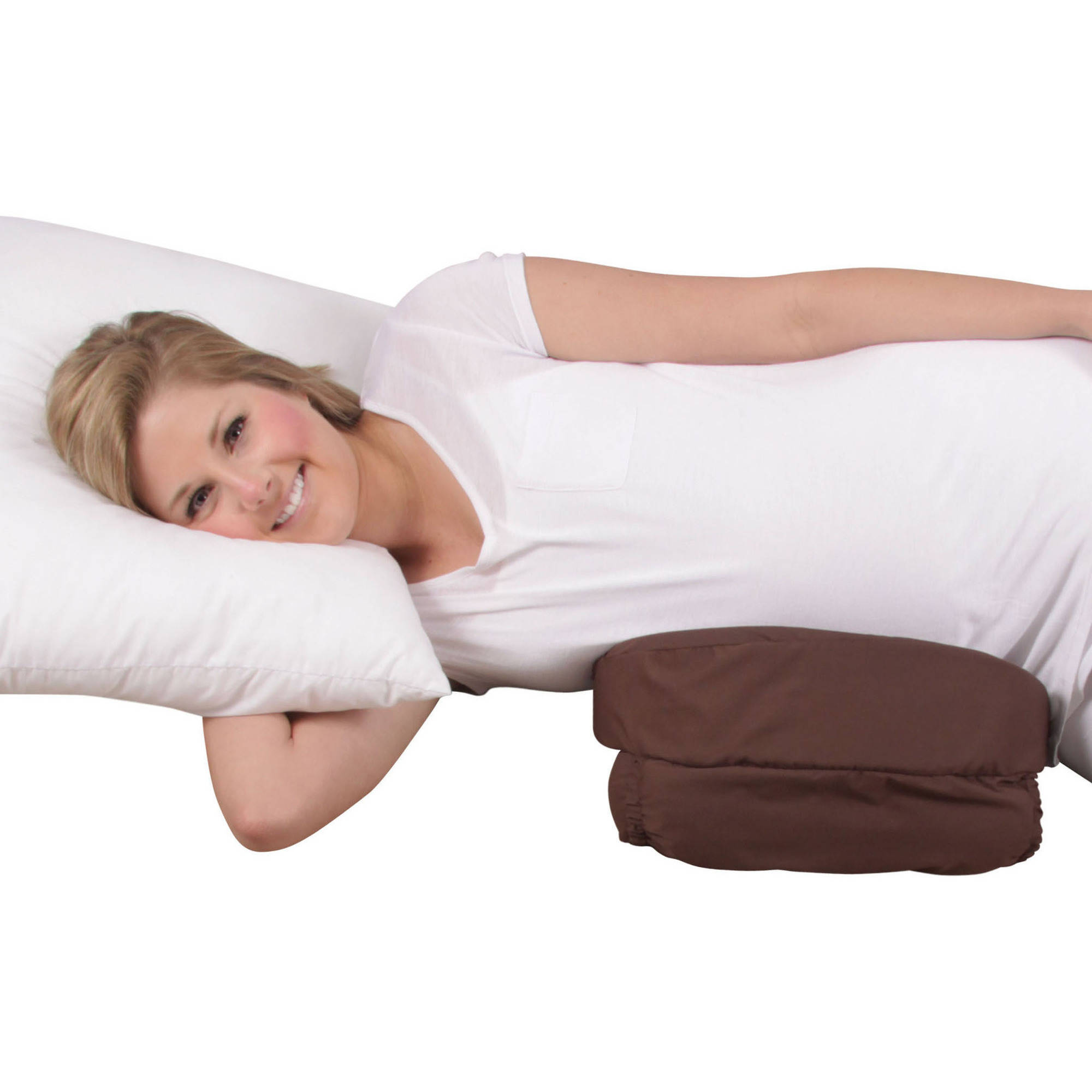 Leachco Belly Buddy Adjustable Pregnancy Wedge, Brown