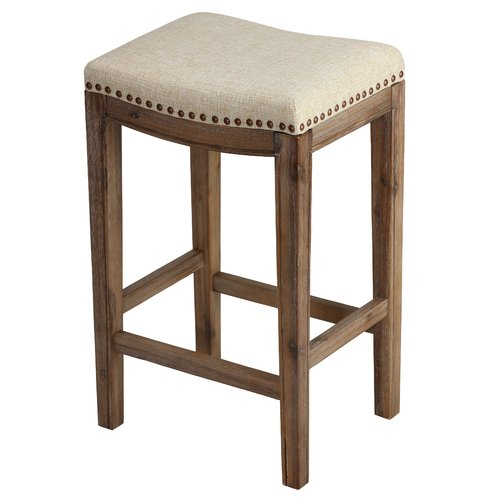One Allium Way Adalwen 24 Bar Stool Walmartcom