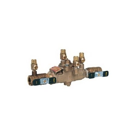 Watts LF009 Reduced Pressure Backflow Preventer, 3/4 Inch, NPT, 175