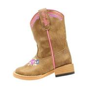 Blazin Roxx 4412402-05.5 Sashay Embroidered Boot, Brown - Size 5.5