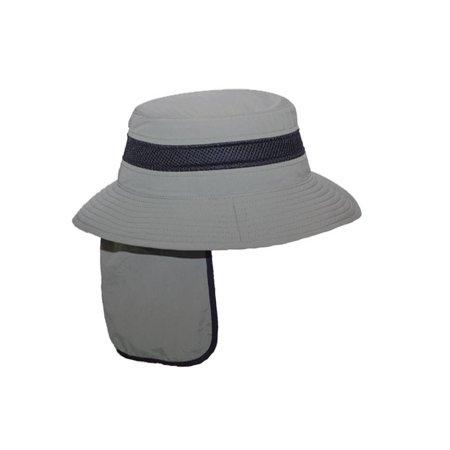 OUTDOOR STYLE FLAP BUCKET HAT W/ CIBA SWEATBAND - Olive - image 1 de 2