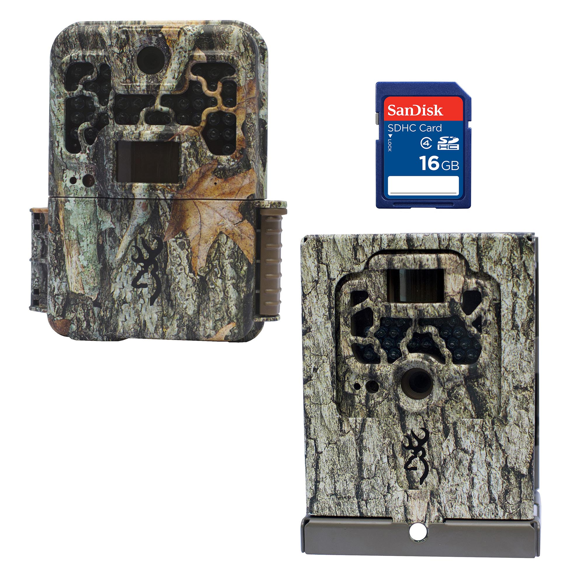 Browning Trail Cameras Recon Force 10MP Game Camera + Security Box + SD Card by Browning Trail Cameras