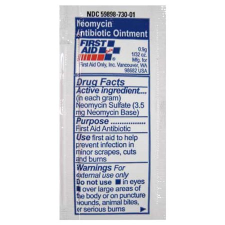 First Aid Only Burn Cream, 10 Ct