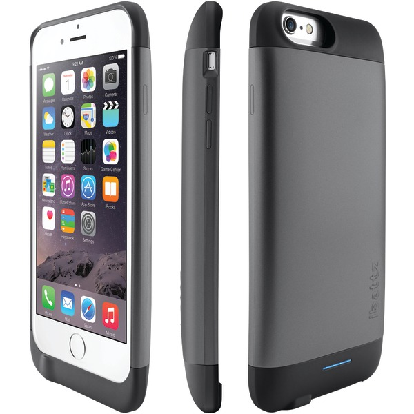 "iBattz Ib-rv6-spg-v1 Iphone 6 4.7"" Refuel Invictus 3,200mah Battery Charger Case (space Gray)"