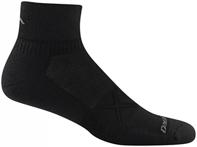 Darn Tough Chase Micro Crew Ultra Light Men/'s Sock White LG