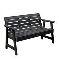 highwood® Eco-Friendly Recycled Plastic Weatherly Garden Bench, 5'