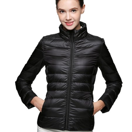 Women Winter Light Down Jacket New Arrival Women Slim Thin Short 90% White Duck Extra Parka Sleeve Zipper Pockets 10 Color Plus Size 3XL Solid Coats Parka