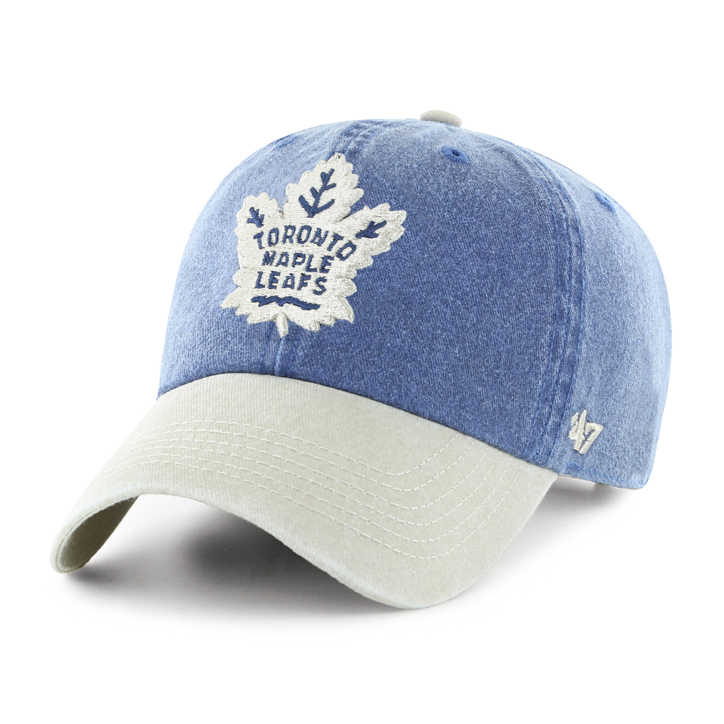 18d5b739341 Toronto Maple Leafs NHL Summerland Two Tone Clean Up Cap