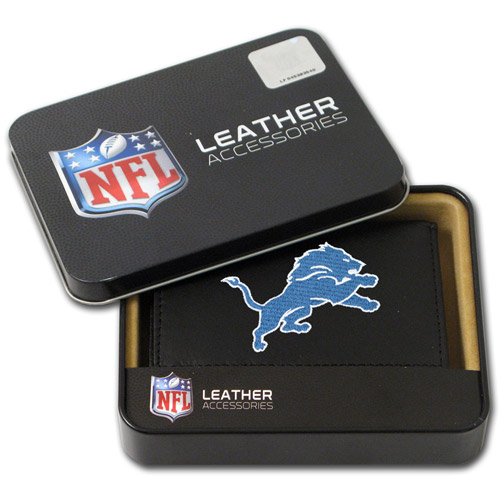 NFL - Men's Detroit Lions Embroidered Trifold Wallet