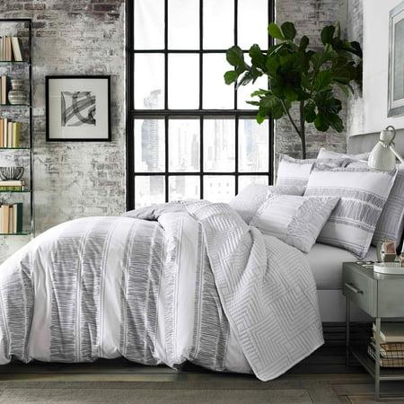 City Scene Ziggy White Comforter Set Full Queen Walmart Com