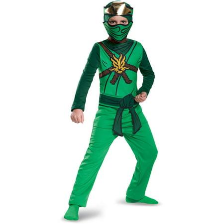 Ninjago Halloween Costume.Lego Ninjago Lloyd Classic Child Halloween Costume By Disguise