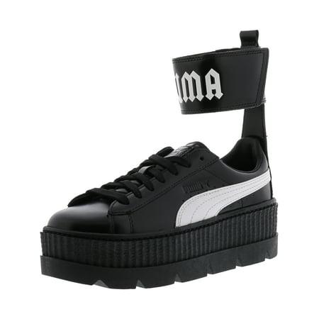 7c0488784c0712 PUMA - Puma Women s Fenty X Ankle Strap Sneaker Black   White Ankle-High  Leather Fashion - 9.5M - Walmart.com