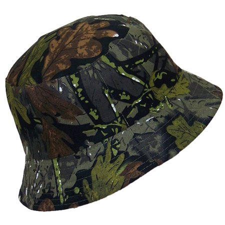 Hardwood Hat (Tropic Hats Lightweight Hardwoods Camouflage Summer Floppy Bucket Hat (One Size) - Forest Camo)
