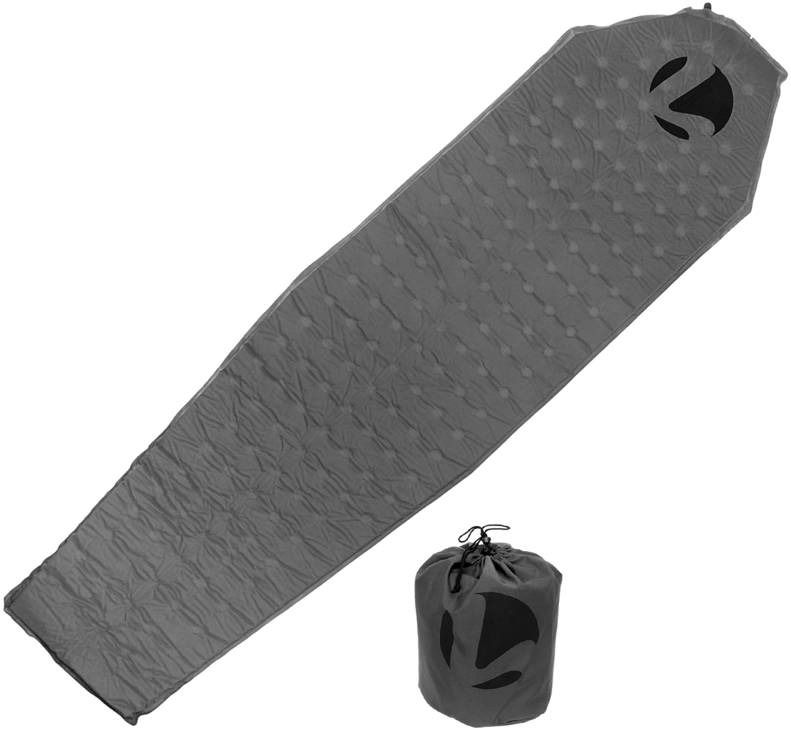 LISH Self Inflating Lightweight Sleeping Mat Pad for Camping, Hiking
