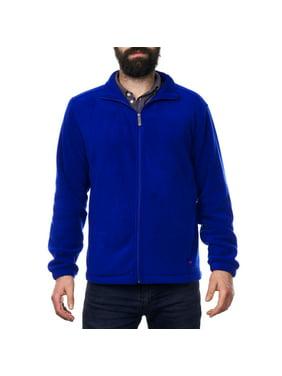 4dff096576b1 Product Image Alpine Swiss Trent Mens Full Zip Up Fleece Jacket Soft Casual  Warm Zipper Coat