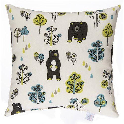 Glenna Jean North Country Bears Cotton Throw Pillow