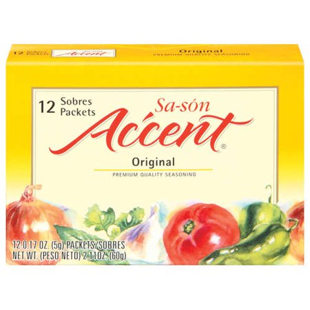 Accent: Sa-Son Original 0.17 Oz Packets Seasoning, 12 Ct ...