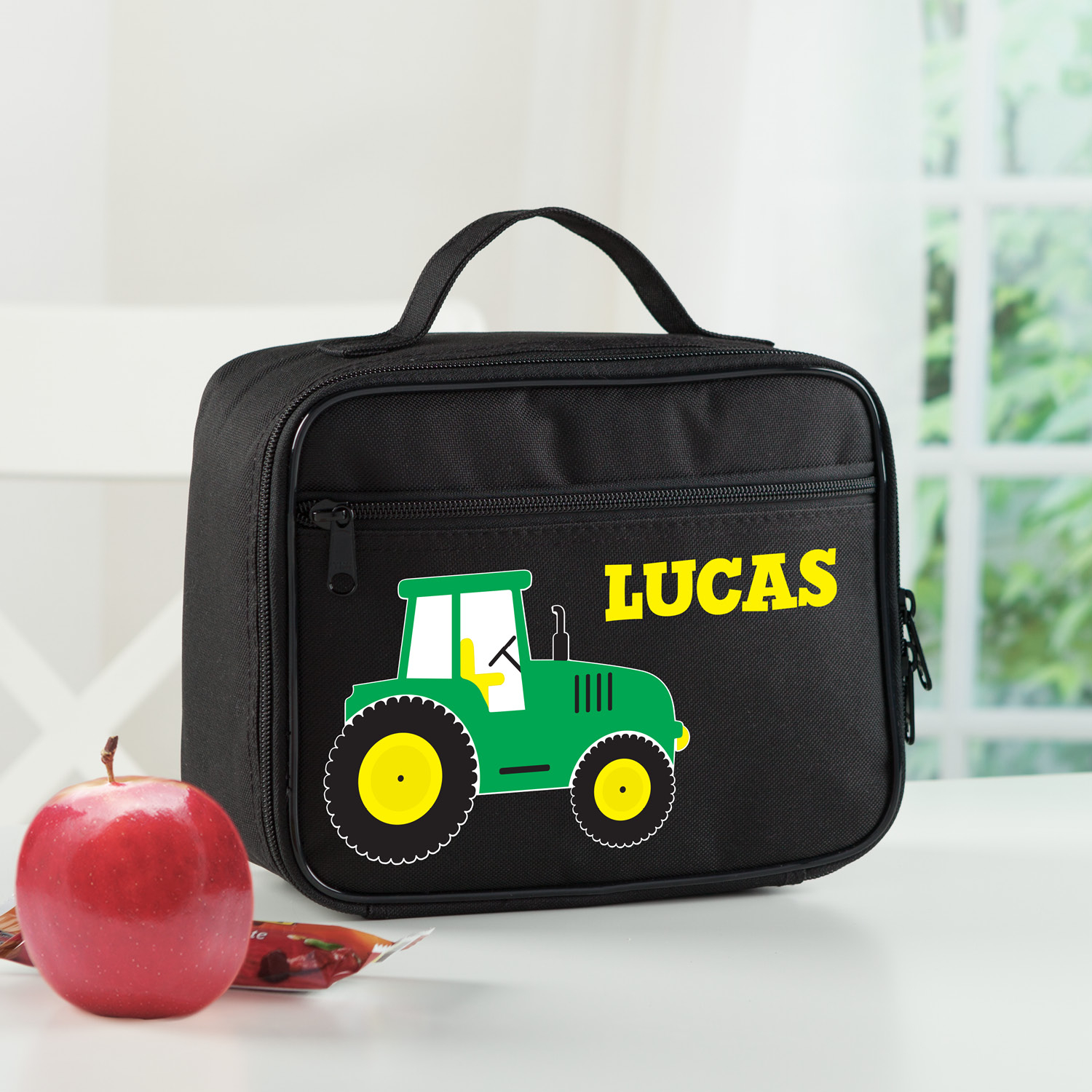Tractor Personalized Lunch Bag