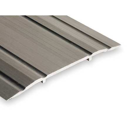 513-4 Saddle Threshold, Fluted Top, 4 ft., Alum