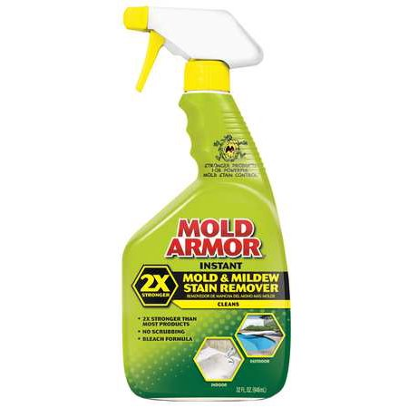 Mold Armor Instant Mold Mildew Stain Remover Oz Trigger Spray - Bathroom mold removal spray