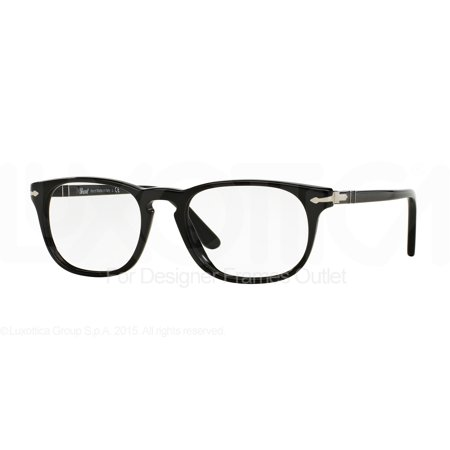 PERSOL Eyeglasses PO 3121V 95 Black (Persol Reading Glasses)