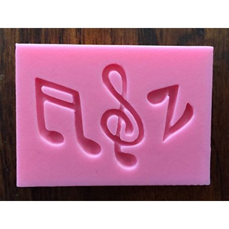 Music notes musical instruments Silicone Candy chocolate Mold Mini Cake Pan