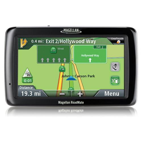 Refurbished Magellan Roadmate 5045-LM GPS Vehicle Navigation System w  Free Lifetime Map & Traffic Updates by Magellan