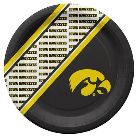 Iowa Hawkeyes Disposable Paper Plates - Walmart com