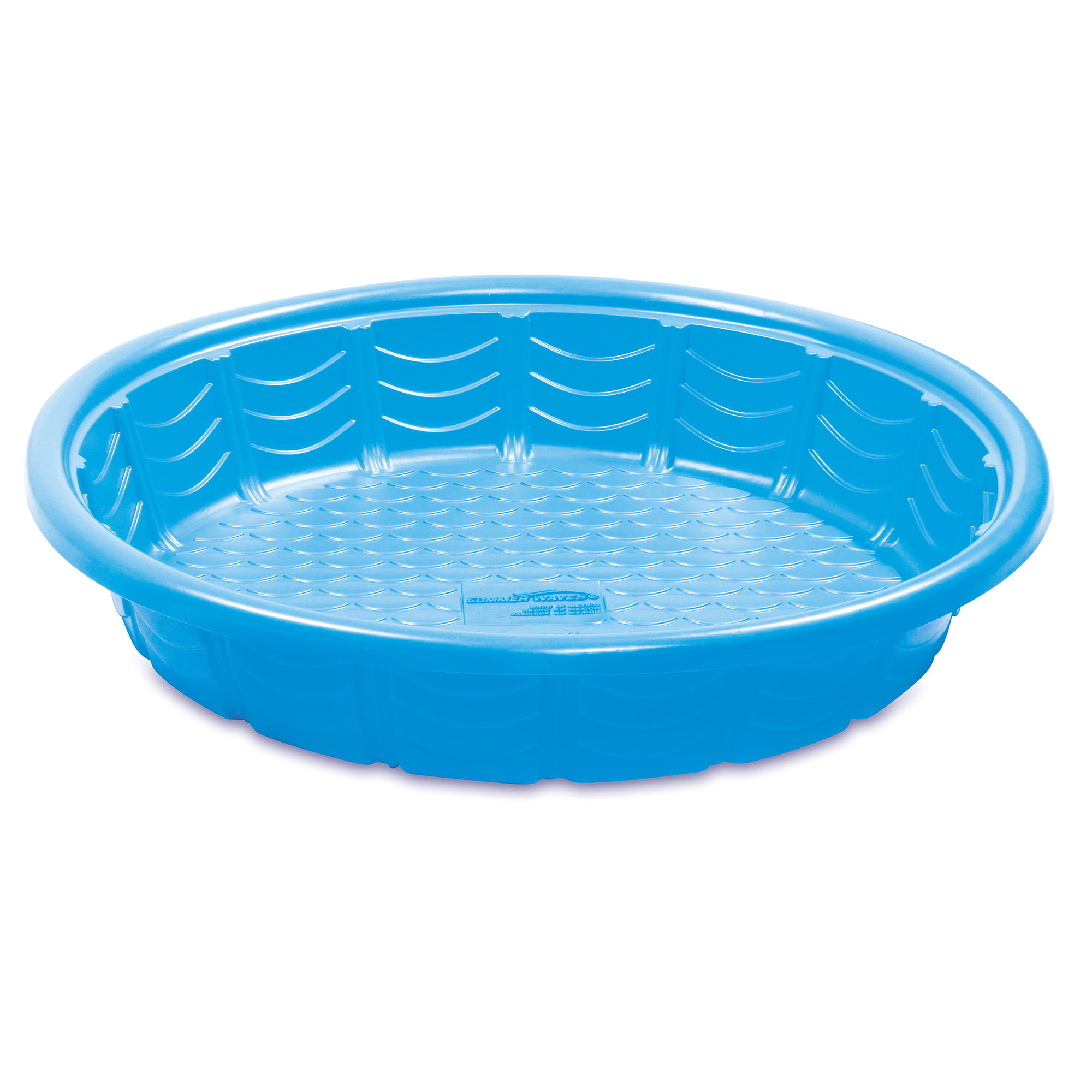 Summer Waves 45in Plastic Kiddie Wading Pool Assorted Colors Walmart Com Walmart Com