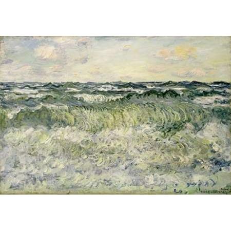 Marine   Etude De Mer Poster Print By  Claude Monet