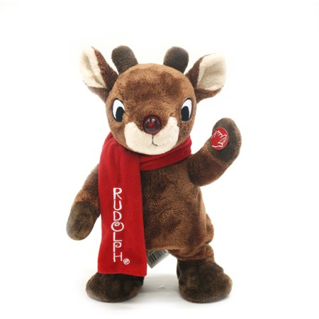 LUJIANG DINGHUI EMBROIDERY & PACKAGING CO., LTD Holiday Time Christmas Decor Rudolph The Red Nose Reindeer 11