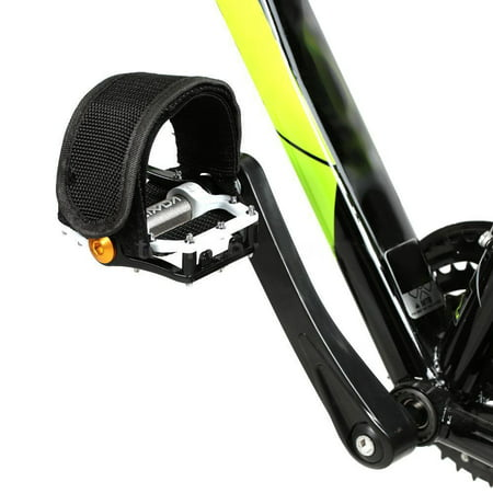 1 Pcs Lightweight Foot Toe Straps Bike Pedals Straps for Fixed Gear Bike Color:Black