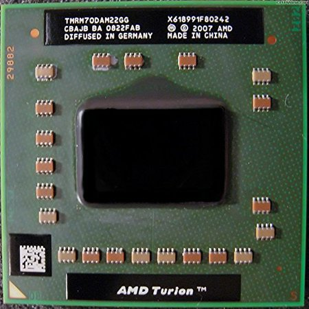 AMD Turion 64 X2 RM-70 Mobile CPU Processor Socket S1G2 638pin 2.0GHz 1MB- TMRM70DAM22GG - Refurbished