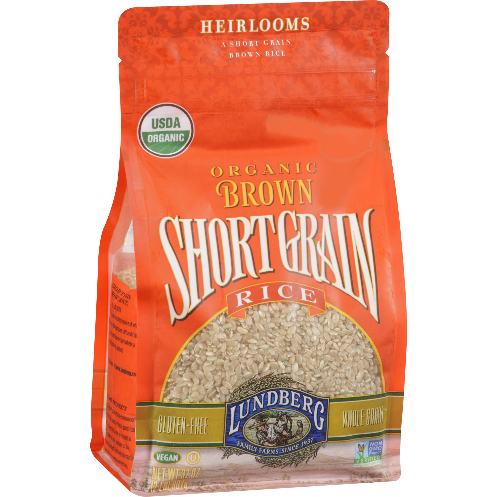 Lundberg Family Farms Short Grain Brown Rice, 32 oz (Pack of 6)