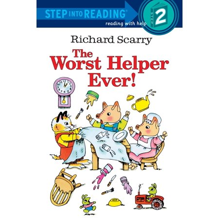 Richard Scarry's The Worst Helper Ever! (Worst Halloween Ever)