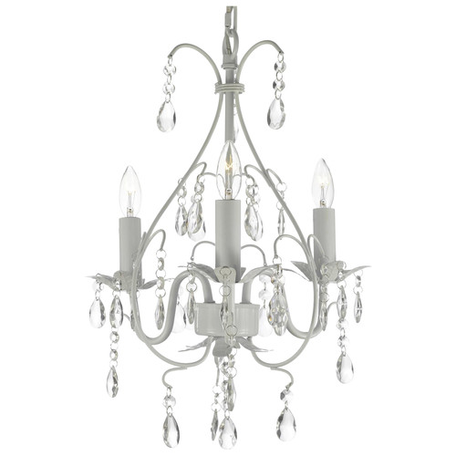 Harrison Lane 3-Light Candle-Style Chandelier