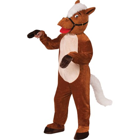Horse Henry The Mascot Neutral Adult Halloween Costume - Fort Henry Halloween