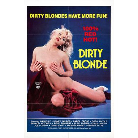 Dirty Blonde Movie Poster 11x17 Mini Poster - Dirty Blonde Movie