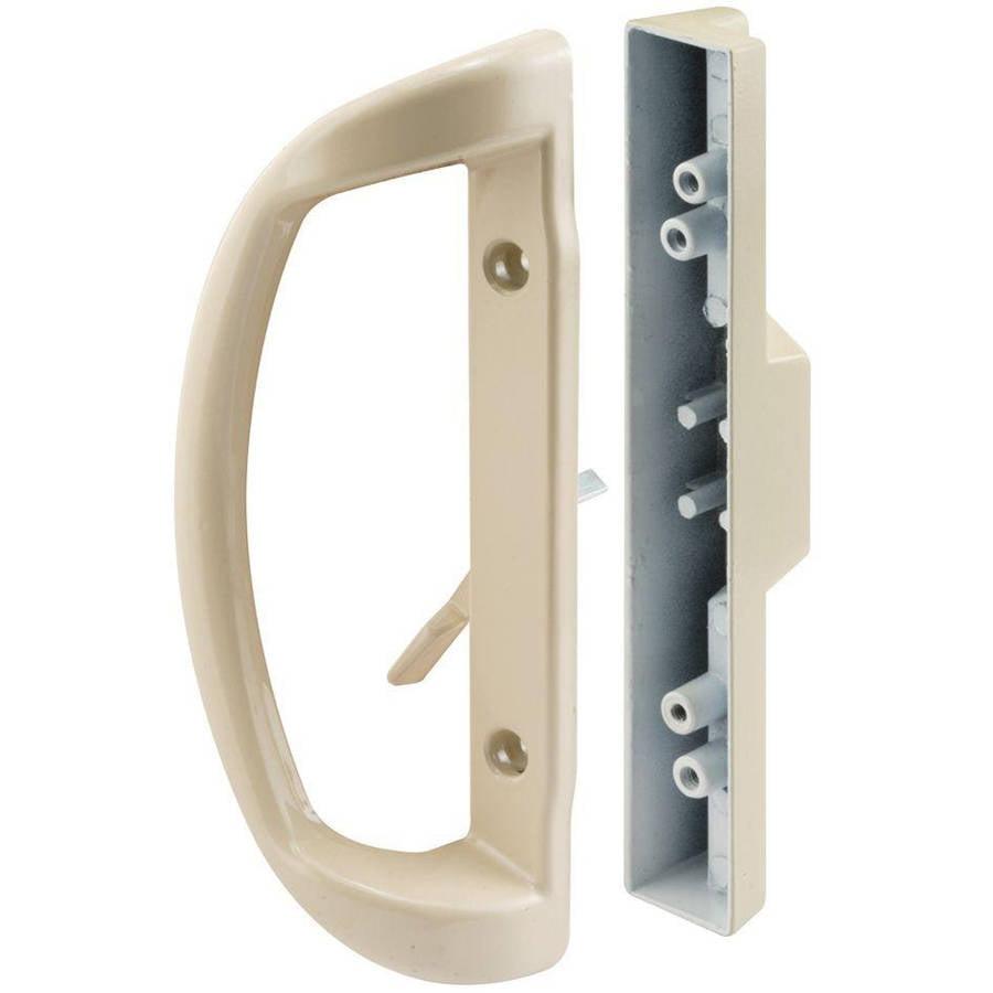Prime-Line C 1327 Sliding Door Handle, Mortise Style, Almond