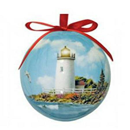 High Lighthouse (Nautical Sunlit Shores Lighthouse High Gloss Resin Hanging)